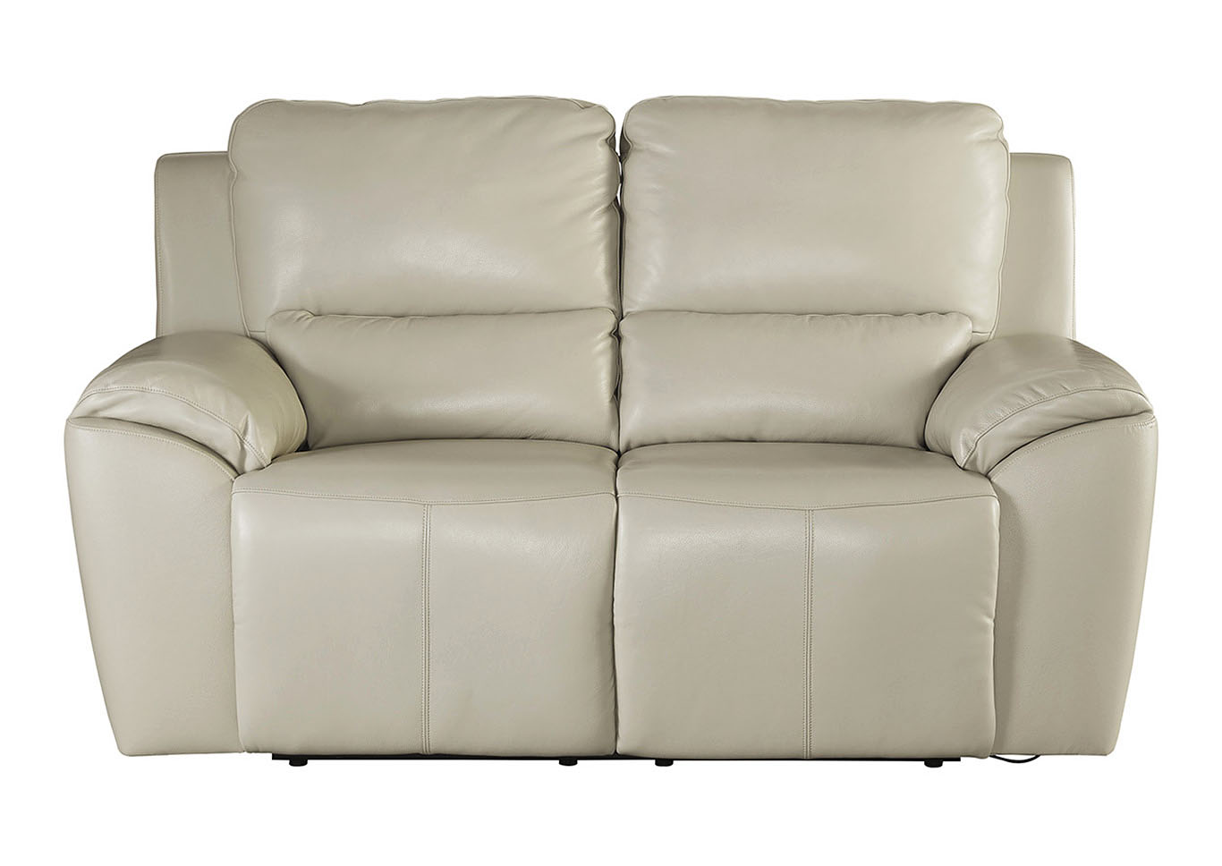 Valeton Cream Reclining Loveseat,Signature Design by Ashley