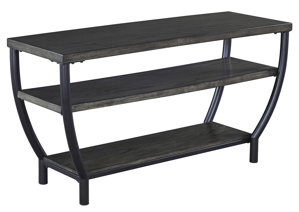 Champori Grayish Brown TV Stand,ABF Signature Design by Ashley
