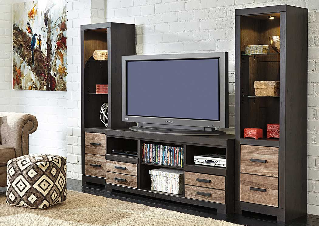 Harlinton Large TV Stand w/ Piers,ABF Signature Design by Ashley