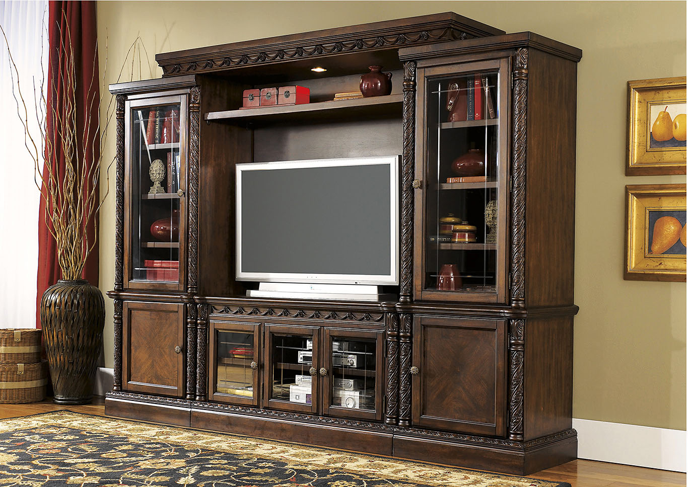 Foothills Family Furniture North Shore Entertainment Center