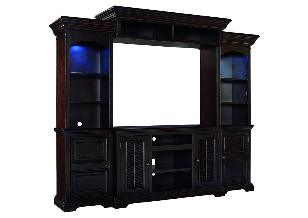 Willenburg Dark Brown Entertainment Center,Signature Design By Ashley