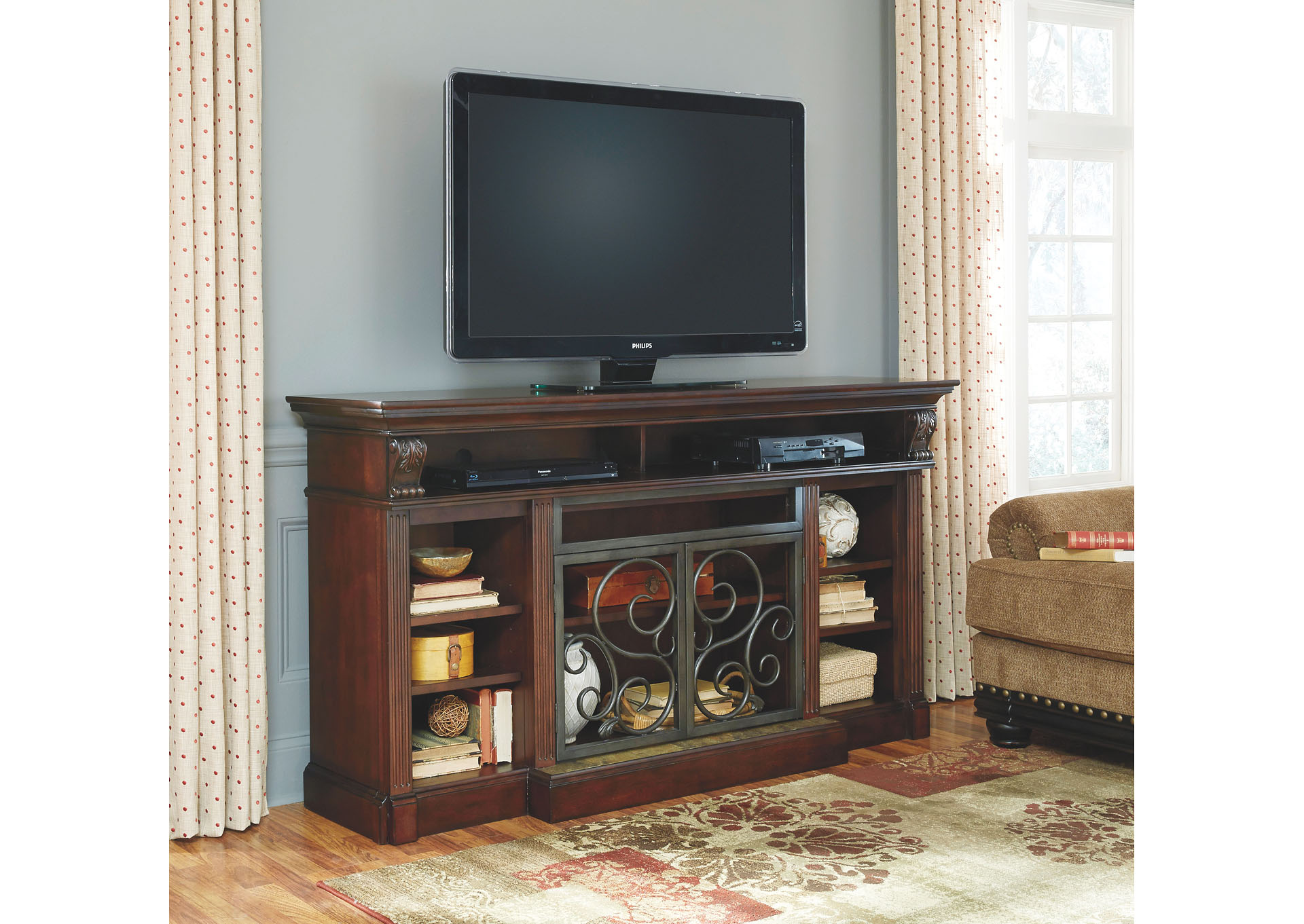 Bargain Furniture Alymere Extra Large TV Stand