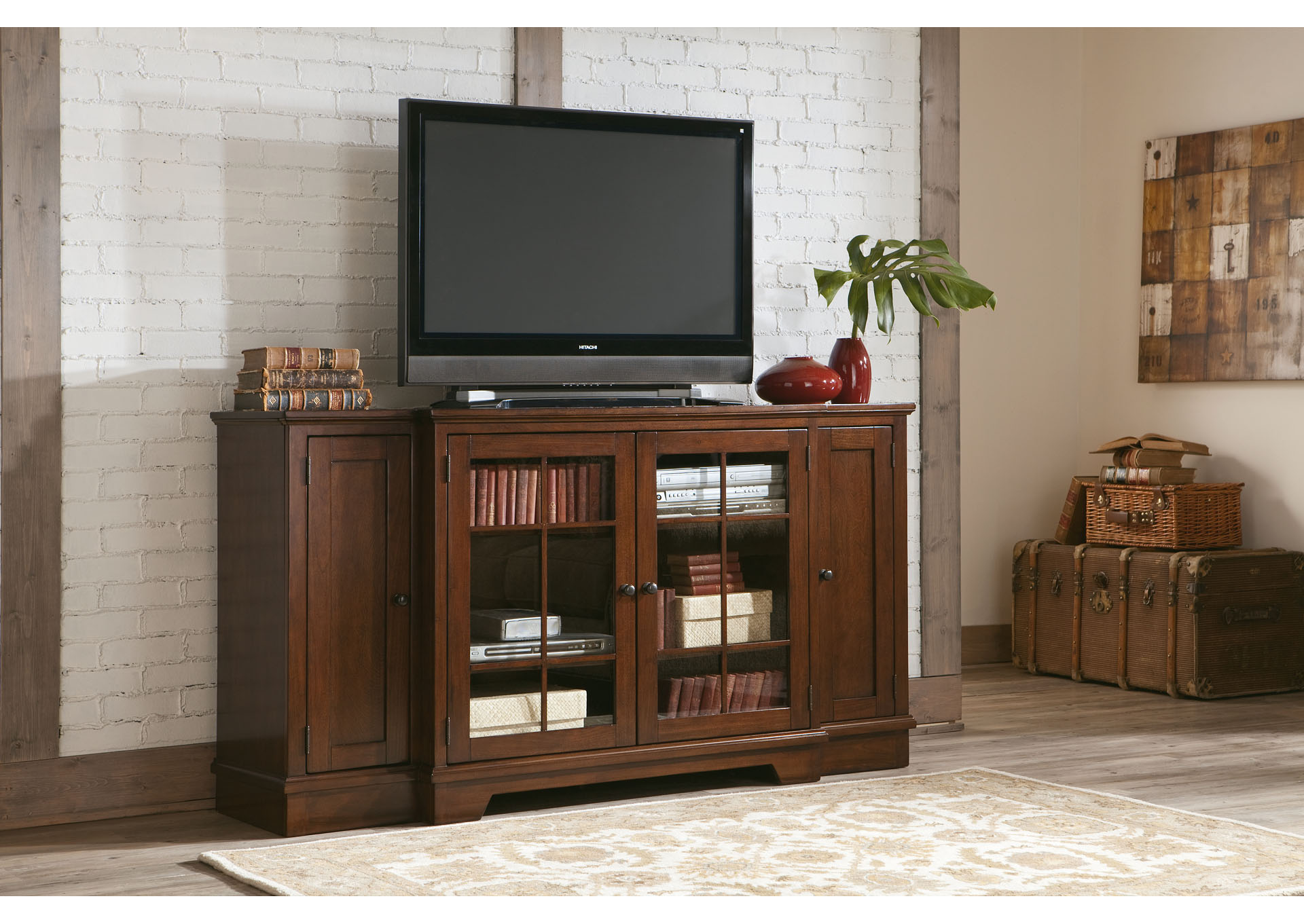 Hodgenville Tall Extra Large TV Stand,Signature Design by Ashley