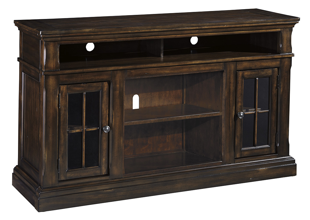 Roddinton Dark Brown Large TV Stand,Signature Design By Ashley