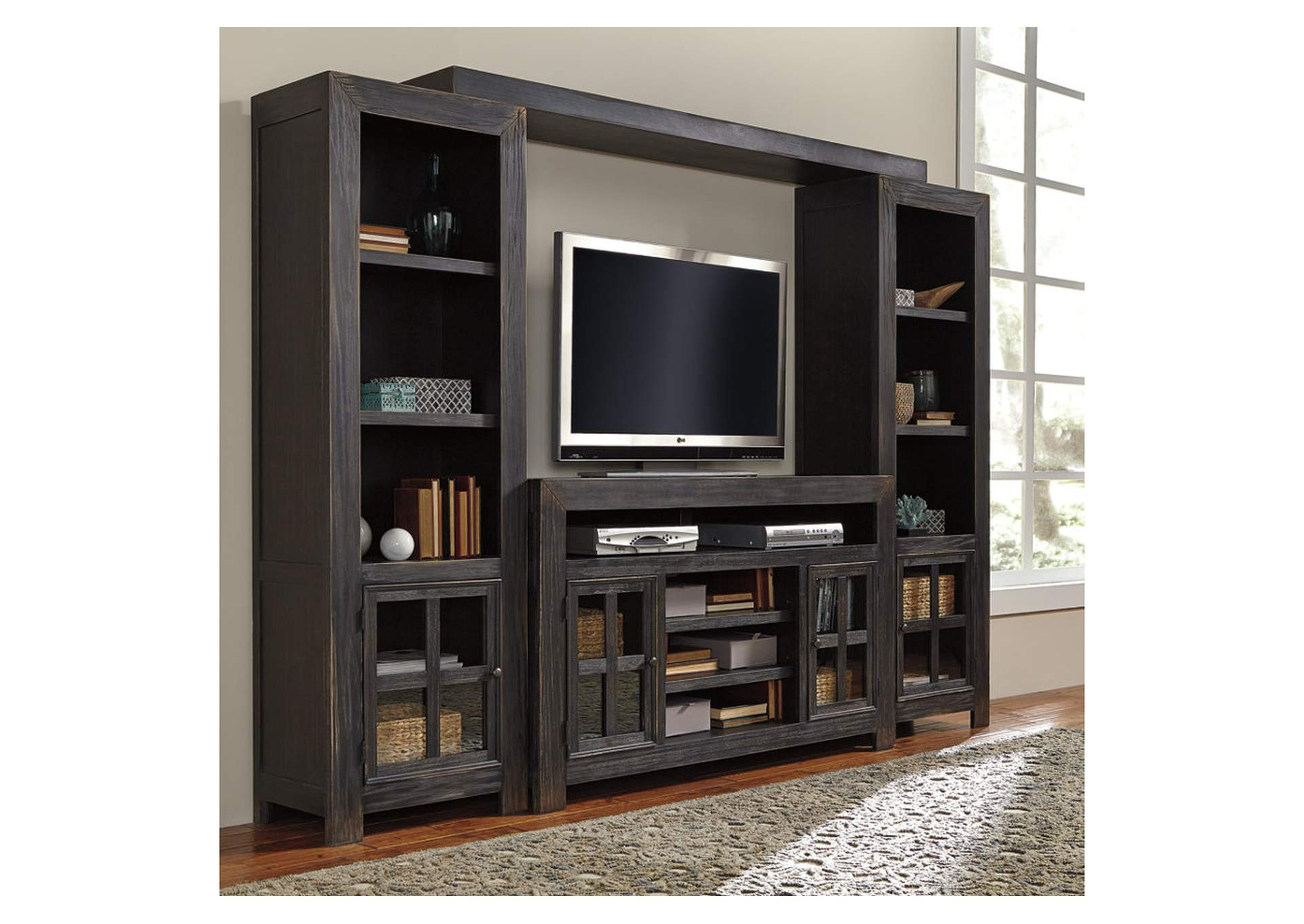 Gavelston Black Entertainment Center,ABF Signature Design by Ashley