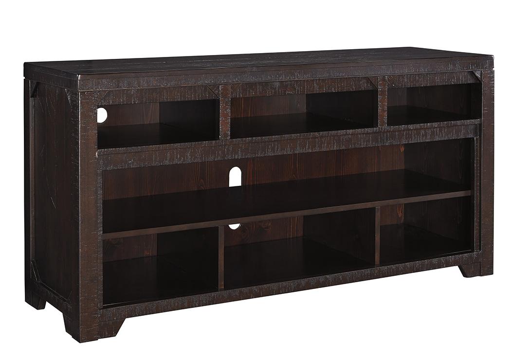 Martinez Furniture Appliance Mcallen Tx Rogness Dark Brown Large Tv Stand