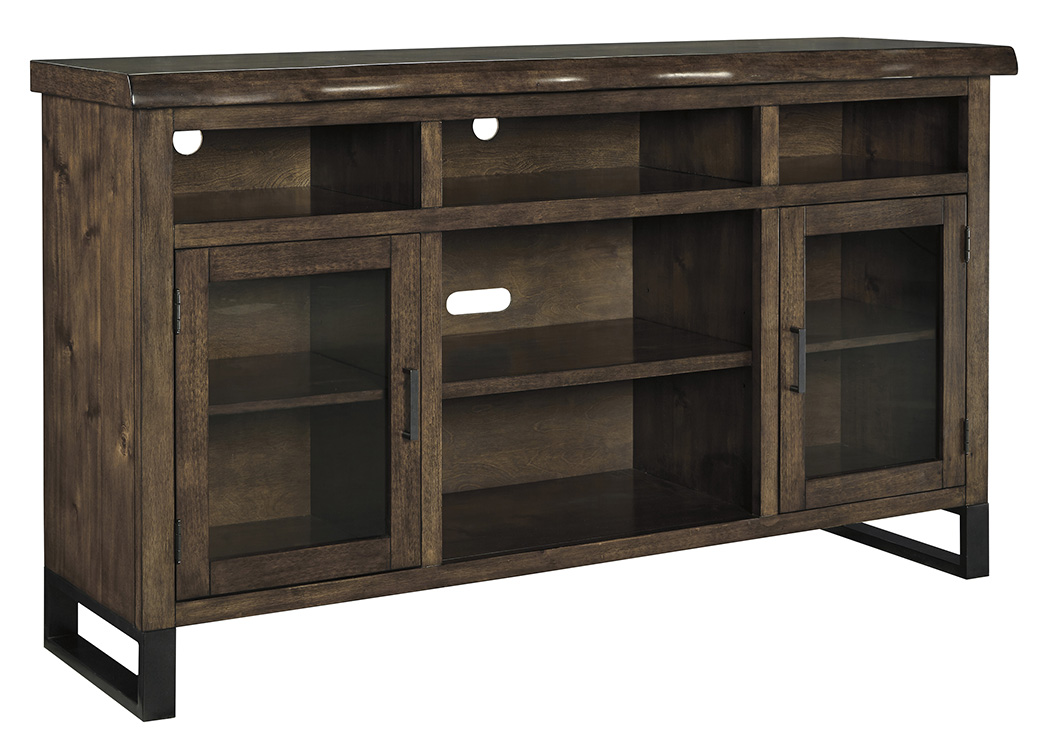 Esmarina Walnut Brown Large TV Stand,Signature Design by Ashley