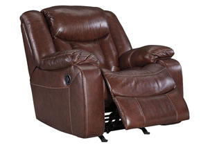 Amaroo Brown Rocker Recliner