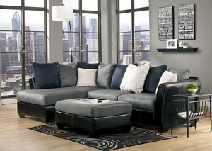 Masoli Cobblestone Chaise End Sectional