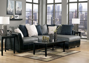 Masoli Cobblestone Chaise End Sectional,Benchcraft