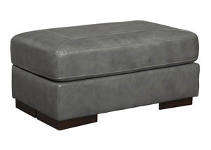 Islebrook Iron Ottoman,Signature Design By Ashley