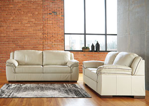 Islebrook Vanilla Sofa & Loveseat