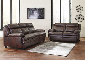 Beautiful Hannalore Cafe Sofa U0026 Loveseat,Signature Design By Ashley