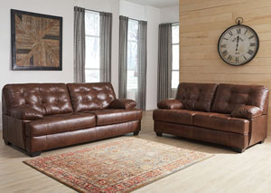Mindaro Canyon Sofa & Loveseat,Signature Design by Ashley