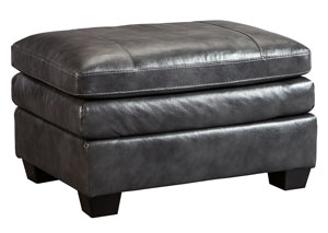 Gleason Charcoal Ottoman,Signature Design By Ashley