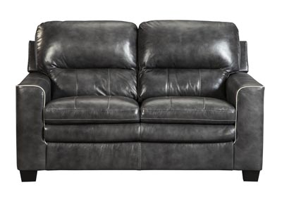 Gleason Charcoal Loveseat