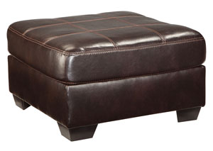 Vanleer Chocolate Oversized Accent Ottoman
