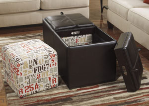 Deshan Mango Ottoman With Storage