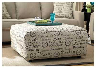 Alenya Quartz Oversized Accent Ottoman,Signature Design by Ashley