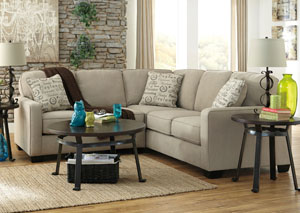 Alenya Quartz Sectional,Signature Design by Ashley