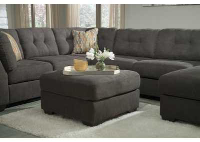 Delta City Steel Oversized Accent Ottoman