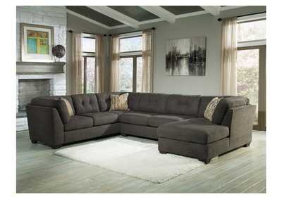 Delta City Steel Right Arm Facing Corner Chaise Sectional