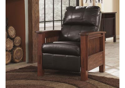Santa Fe Chocolate High Leg Recliner,Signature Design By Ashley
