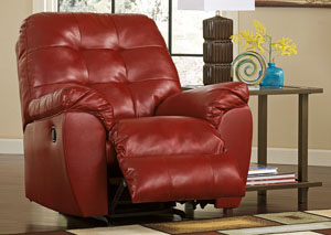 Alliston DuraBlend Salsa Rocker Recliner,Signature Design By Ashley