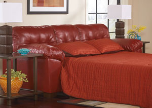 Alliston DuraBlend Salsa Queen Sofa Sleeper