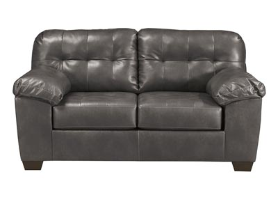 Alliston DuraBlend Gray Loveseat,Signature Design by Ashley