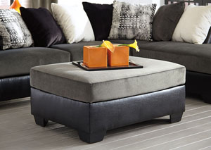 Armant Ebony Oversized Accent Ottoman,Signature Design by Ashley