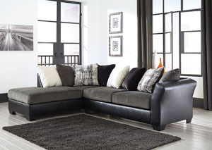 Armant Ebony Sofa w/Left Facing Corner Chaise,Signature Design by Ashley