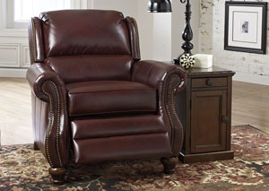Elberton DuraBlend Roma Low Leg Recliner,Signature Design by Ashley