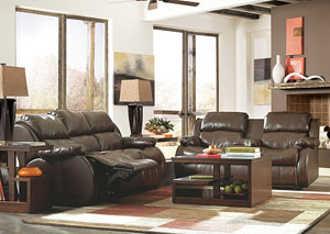 DuraBlend Cafe Reclining Sofa & Loveseat,Millennium
