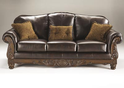 North Shore Dark Brown Sofa,Millennium