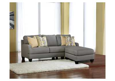 Chamberly Alloy Chaise End Sectional,Signature Design by Ashley