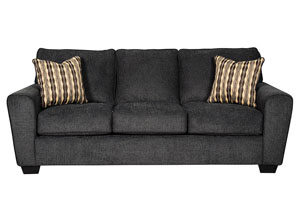 Landoff Black Sofa