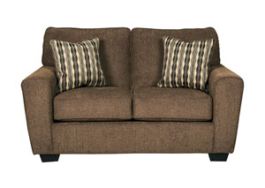 Landoff Walnut Loveseat