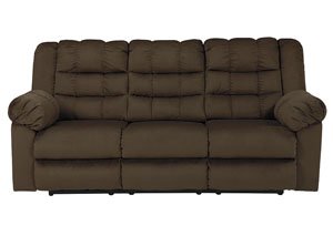 Mort Umber Reclining Sofa,Signature Design by Ashley