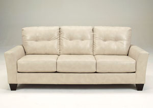 Paulie DuraBlend Taupe Sofa,Benchcraft