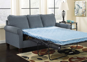 Zeth Denim Queen Sofa Sleeper,Signature Design by Ashley