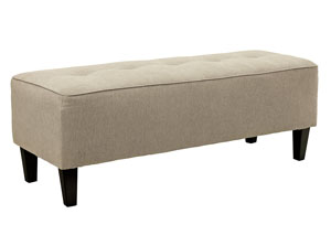 Sinko Quartz Oversized Accent Ottoman