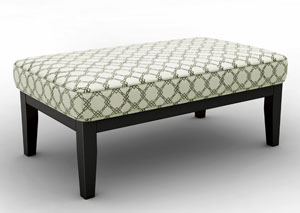 Daystar Seafoam Oversized Accent Ottoman,Signature Design by Ashley
