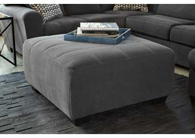 Sorenton Slate Oversized Accent Ottoman,Signature Design by Ashley