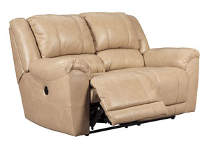 Yancy Galaxy Reclining Power Loveseat,Signature Design by Ashley