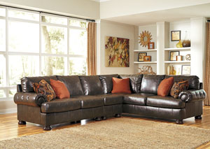 Nesbit DuraBlend® Antique Extended Sectional