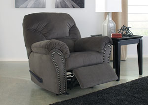 Kinlock Charcoal Rocker Recliner