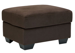 Kinlock Chocolate Ottoman,Signature Design by Ashley