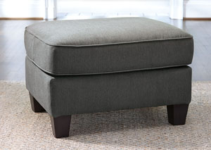 Slagle Slate Ottoman,Ashley