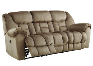 Jodoca Driftwood Reclining Power Sofa,Benchcraft